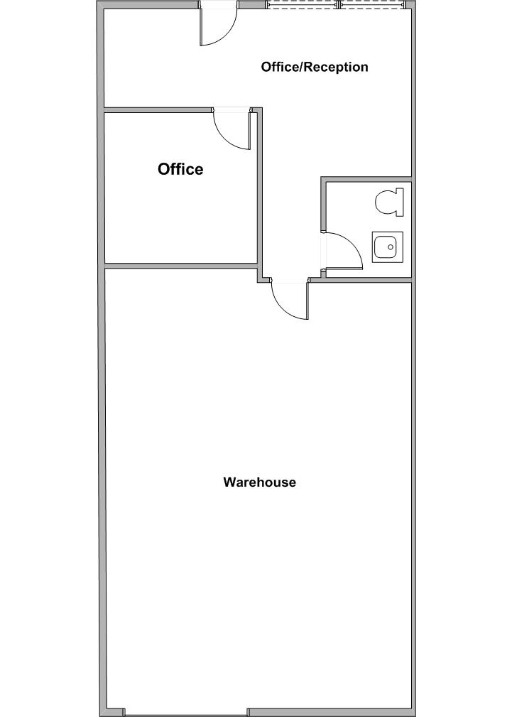 Floor Plan 1244 E. Orangethorpe Ave.