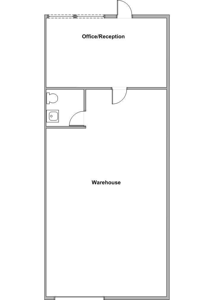 Floor Plan 1246 E. Orangethorpe Ave.