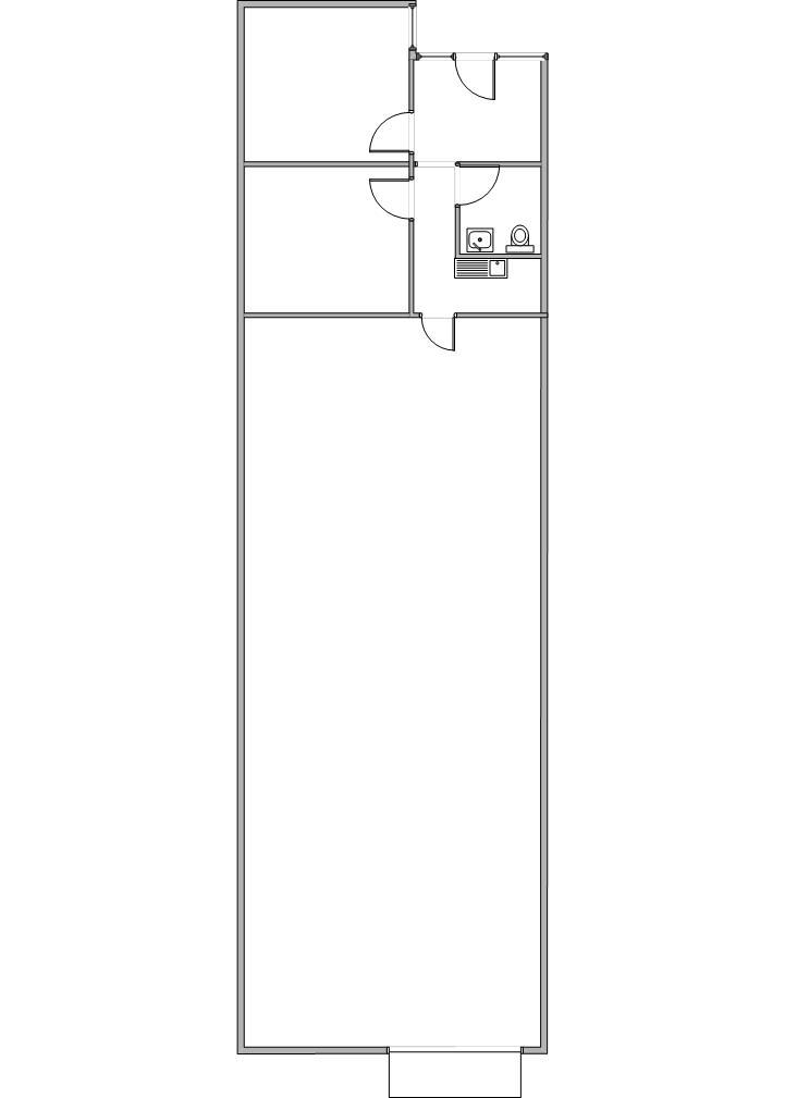Floor Plan for 3911-J E. La Palma, Unit J