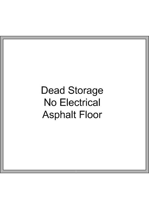 Floor Plan Shed #11