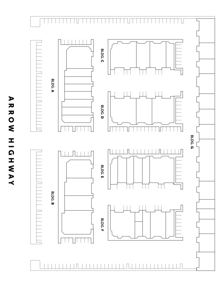 Site Plan 4650 Arrow Hwy