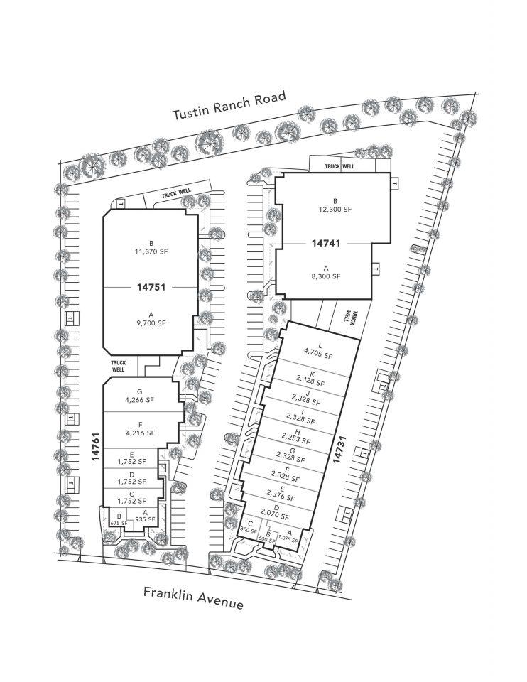 Site Plan 14731-14761 Franklin Ave