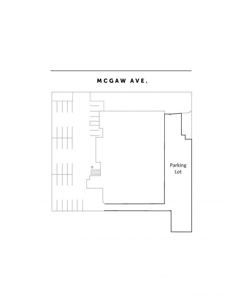 Unit Floor Plan - Parking Lot