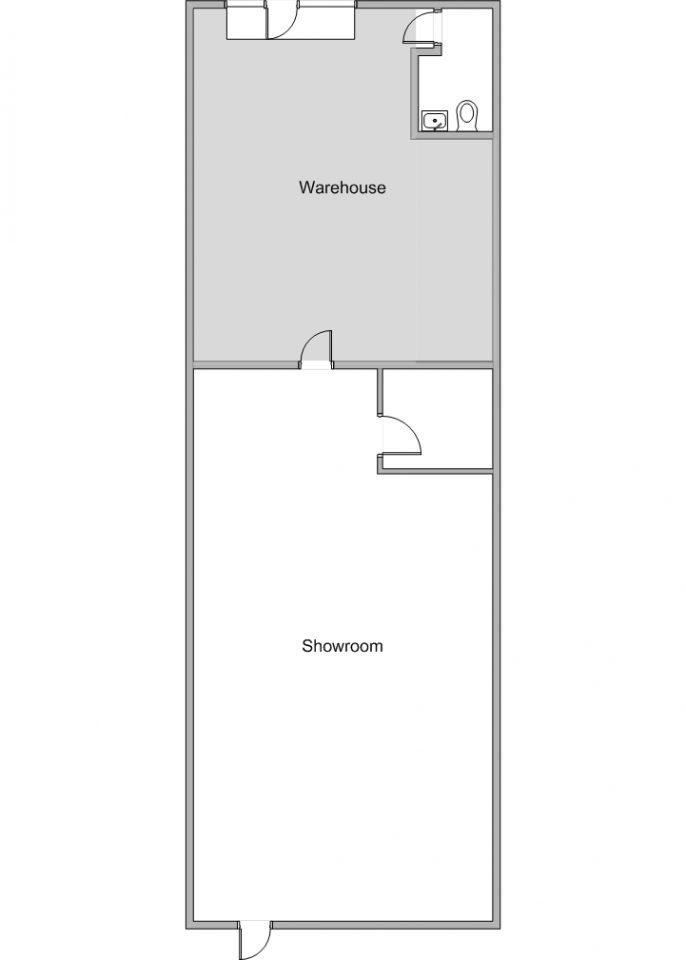 Floor Plan 645 S. State College Blvd.
